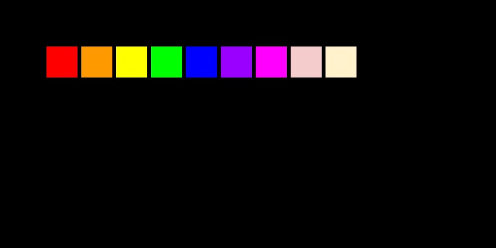 Rainbow in the dark