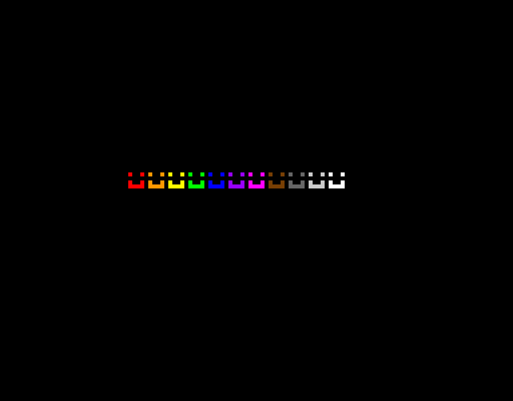 Rainbow Smileys in the dark! ( pls give me likes and comments pls! )