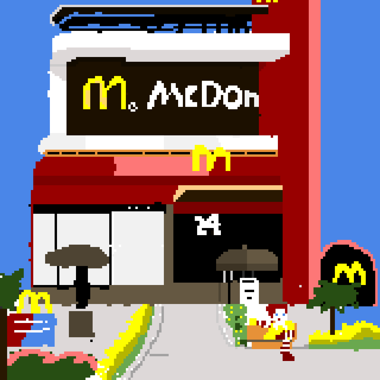 McDonalds ( Contest Hope I didn't miss the contest)