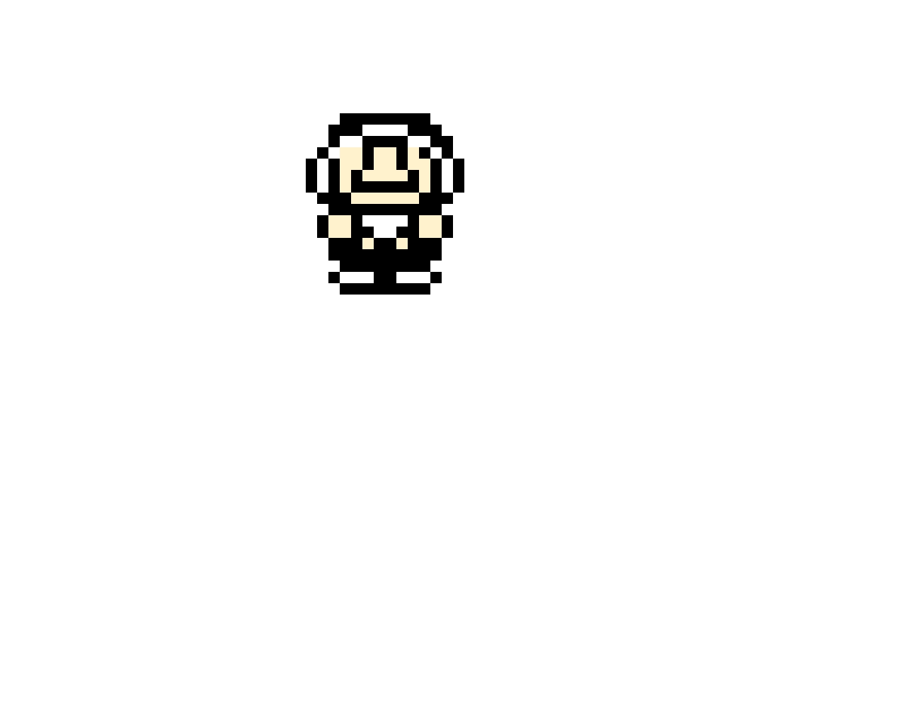 SMB3 Hammer Mario Overworld Sprite (It is only seen when you see your lives.)