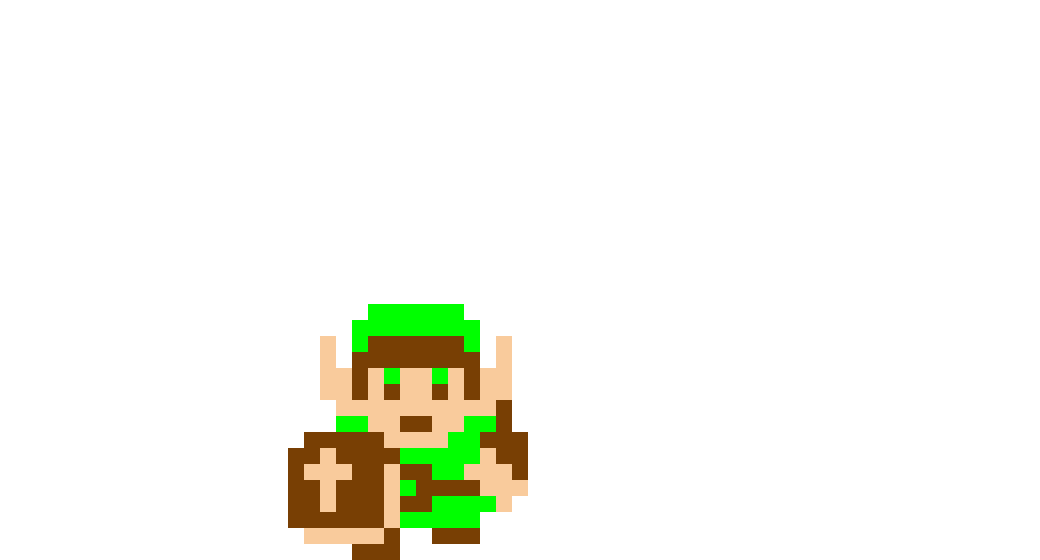 First LoZ pixel art (Suggestion from @2932201)