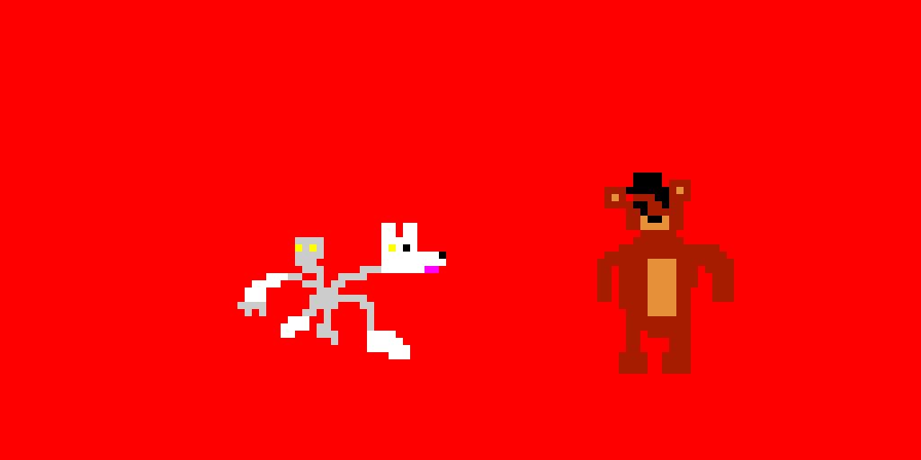 8-bit Freddy and Mangle