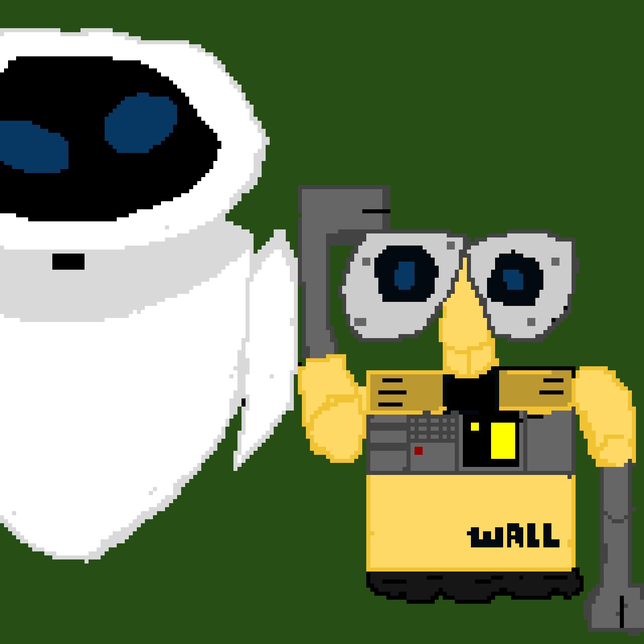 Eve and Wall-E ( Wall-E con test)