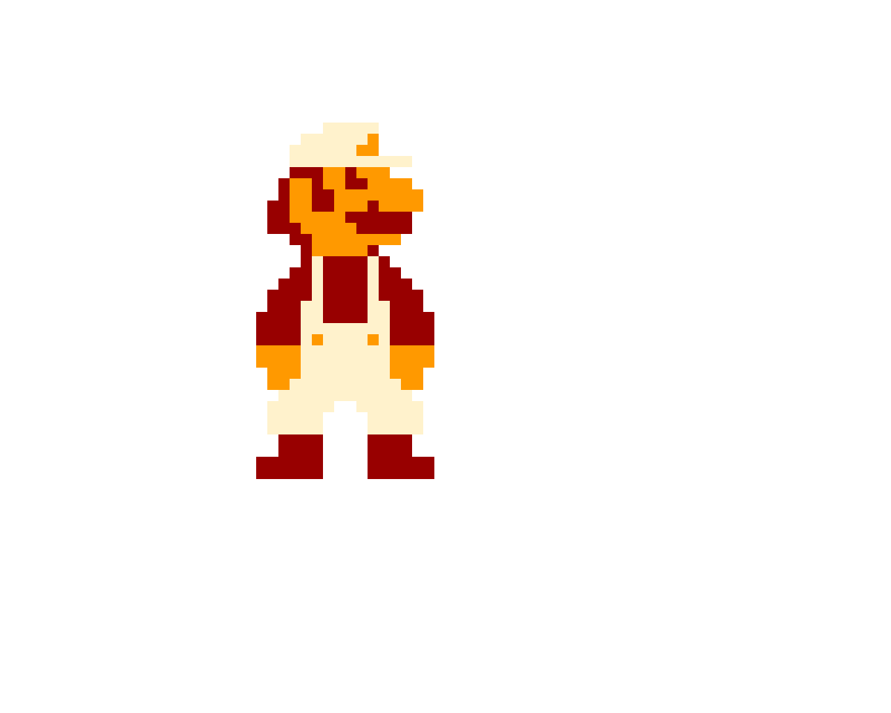 Fire Mario (SMB1 Styled)