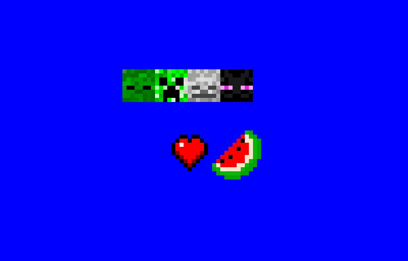 MINECRAFT MOB FOOD HEART