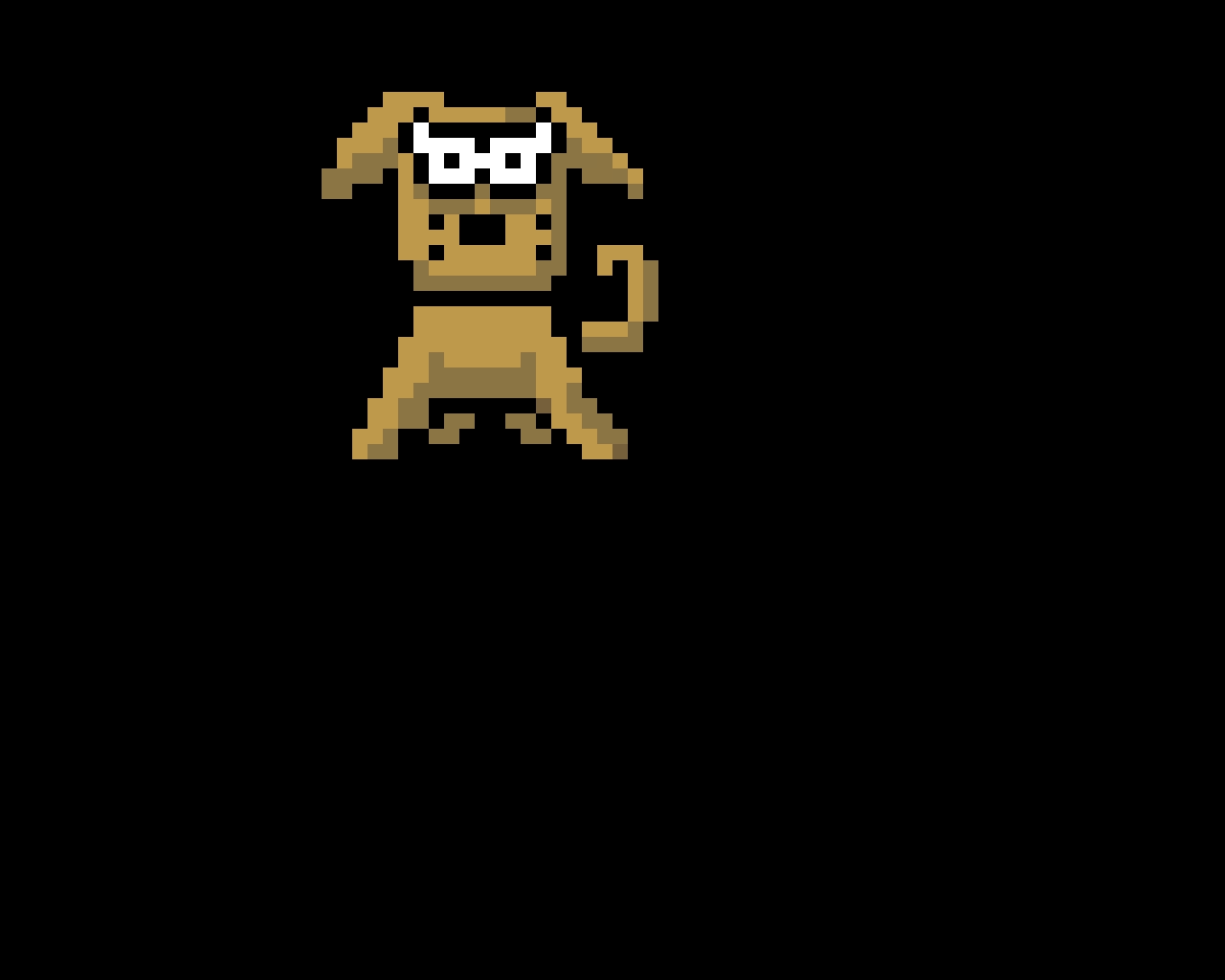 Runaway Dog In-Battle Sprite (Earthbound)