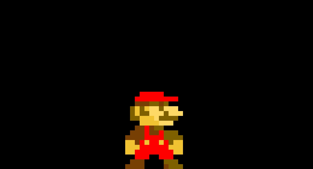 SMB Mario with shading