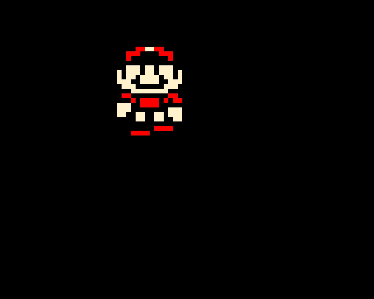 SMB3 Big Mario Overworld Sprite