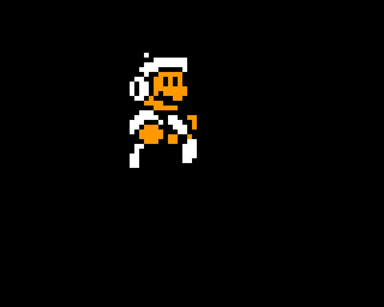 SMB3 Hammer Mario Walking Sprite