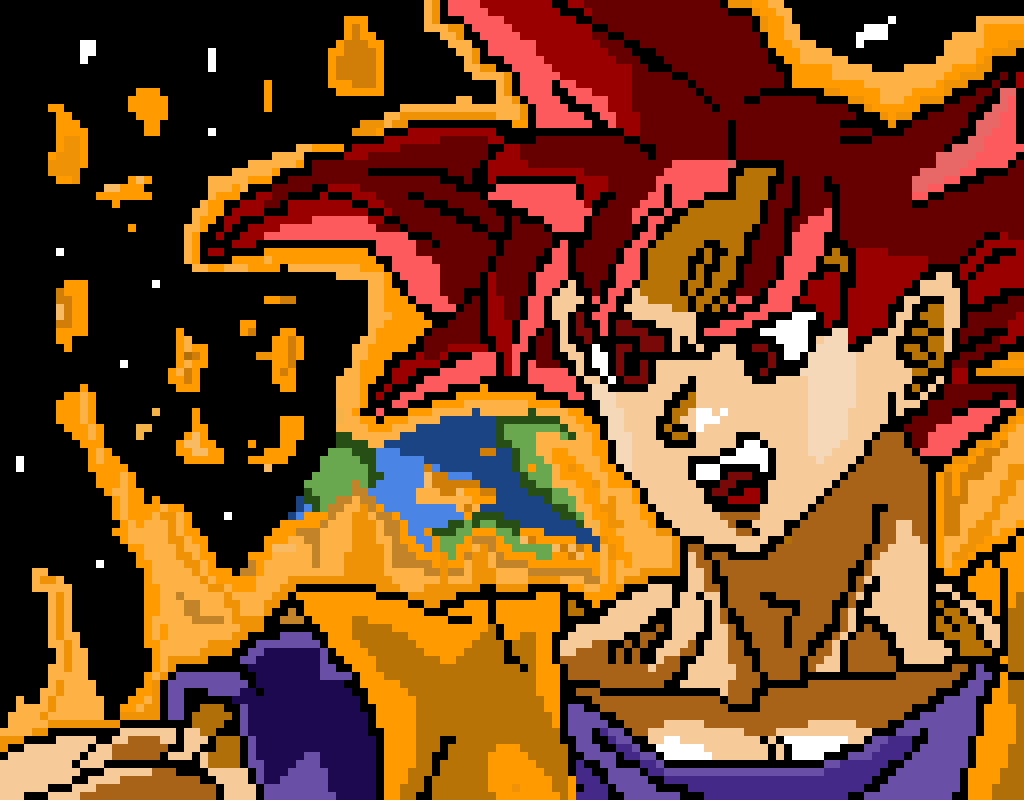 SSJG Goku (Backup)