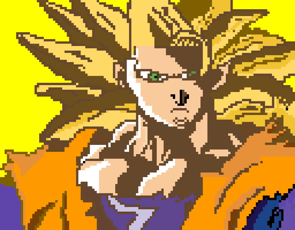 Super Saiyan 3 Goku (Editable)