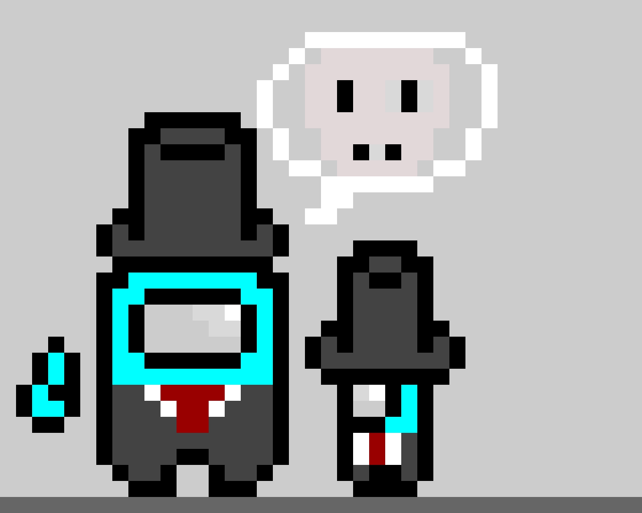 Tuxedo Among Us Character