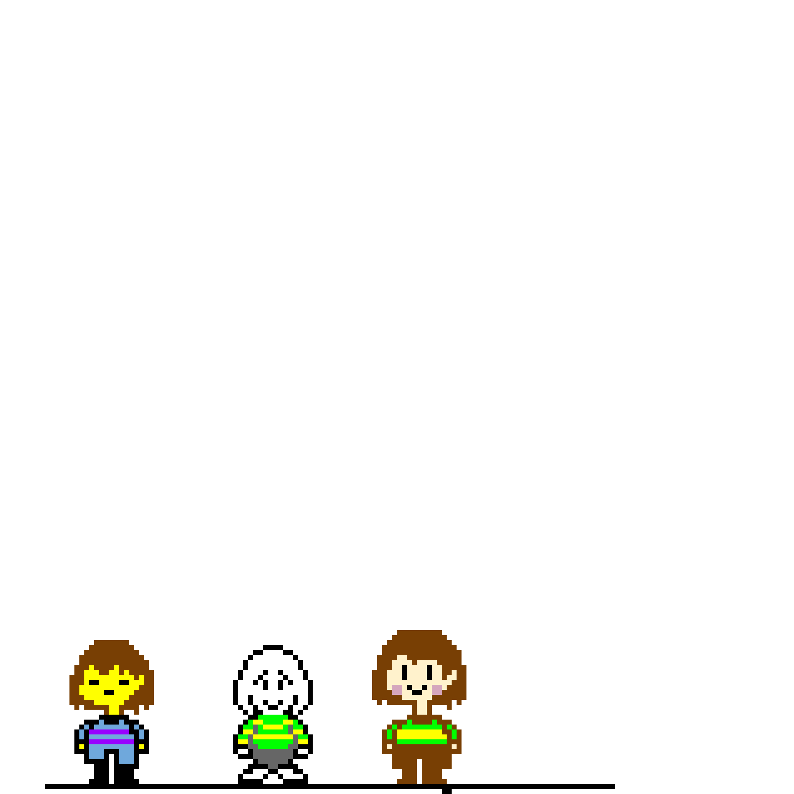 frisk asriel and chara