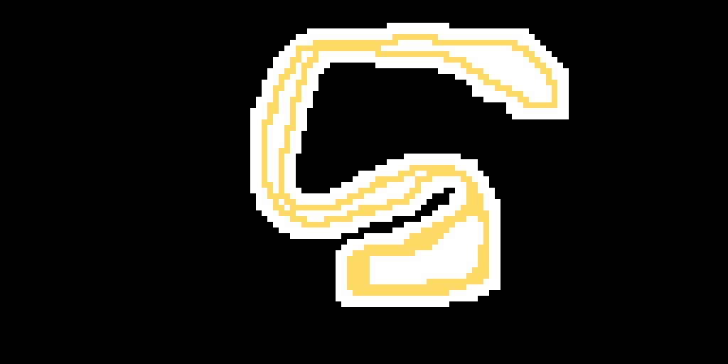 my attempt on making the scratch logo ;-;