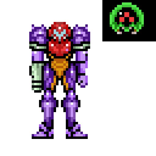 super metroid samus in gravity suit