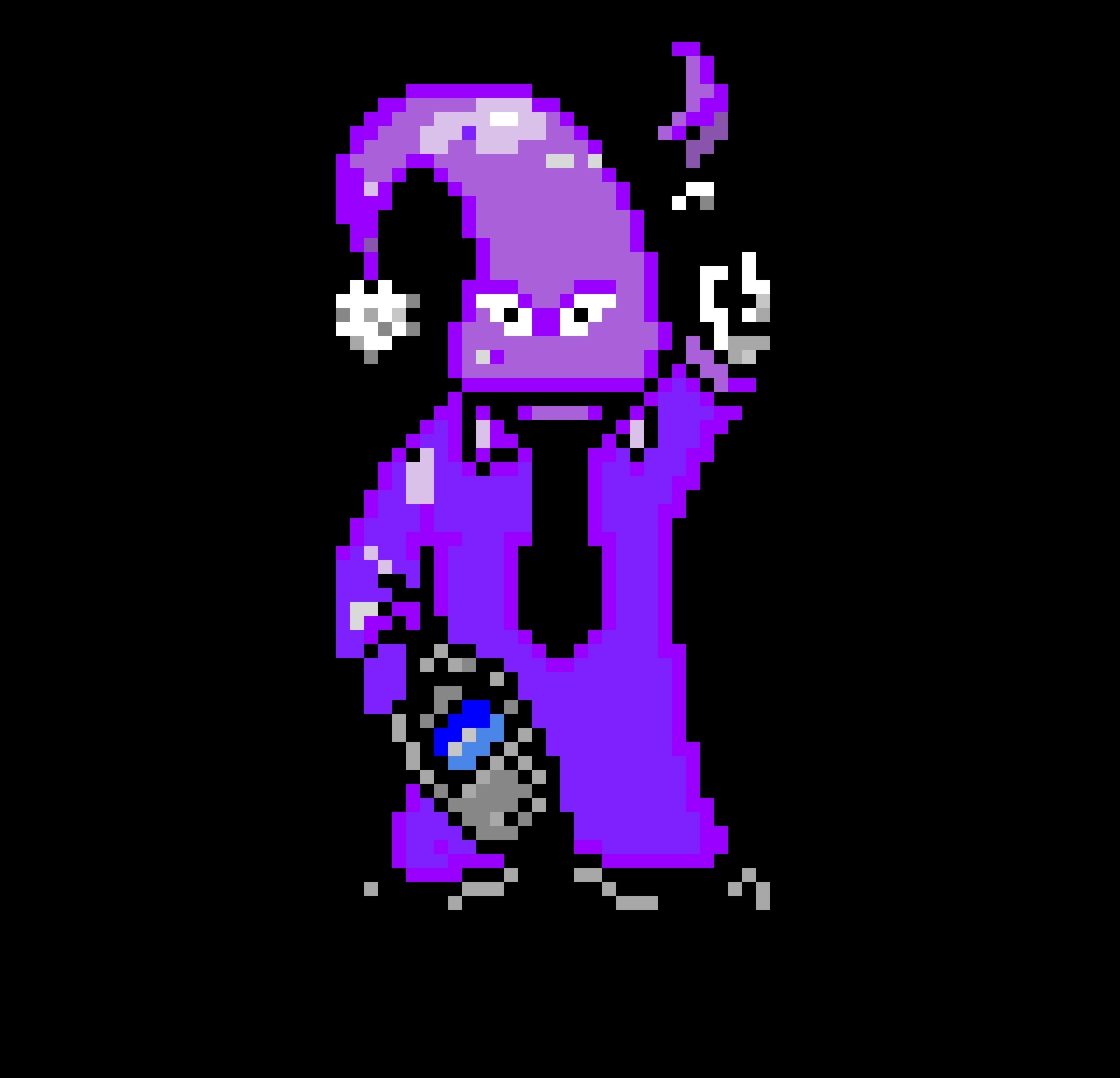 happy happiest (insane cultist) colored battle sprite