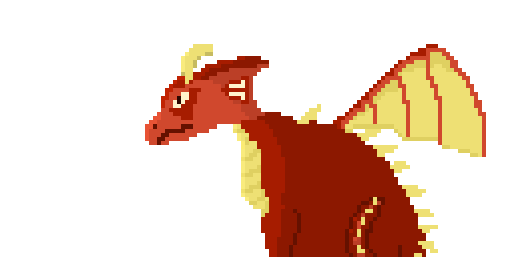 Adult Fire  Dragon