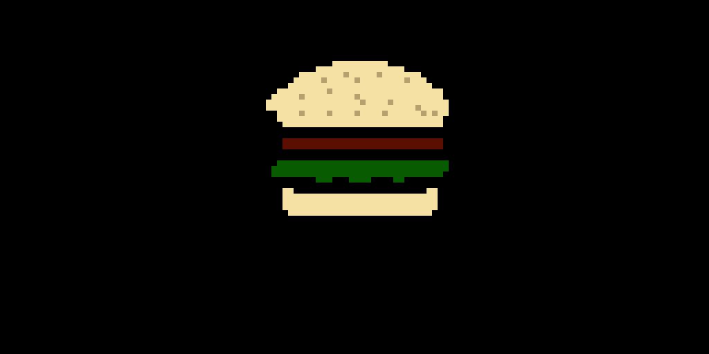 I Made A Hamburger I Know the Buns Are Too Bright ;-;