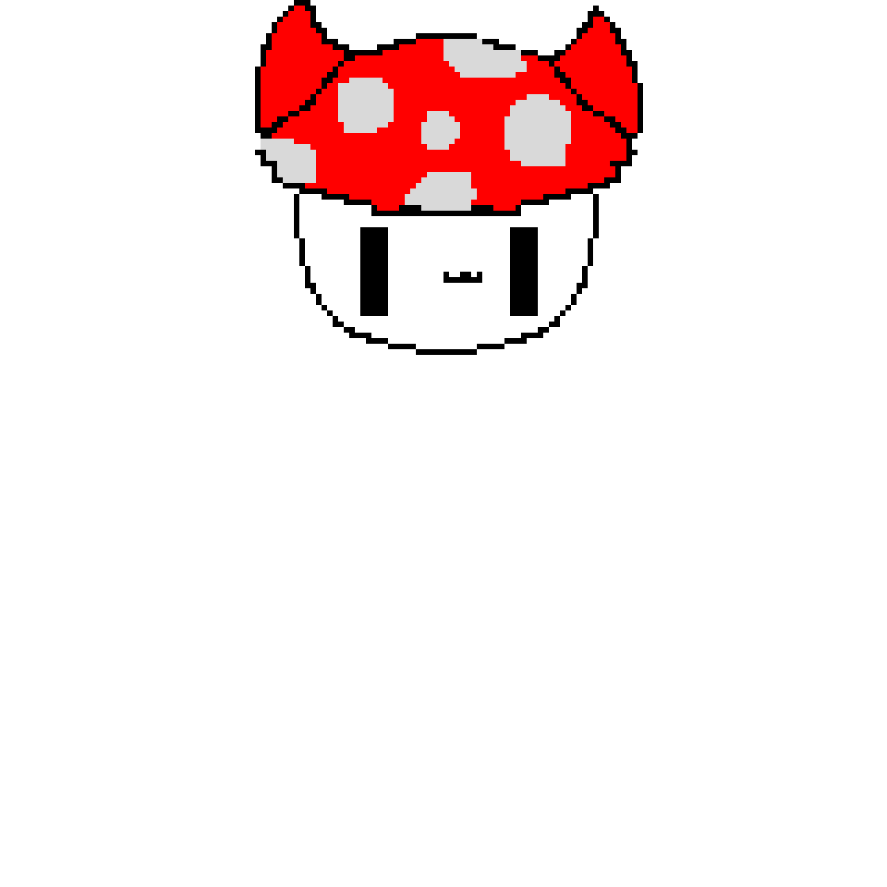 Mushroom Cat, If this gets 5 Likes ill Make Another Plant Cat!