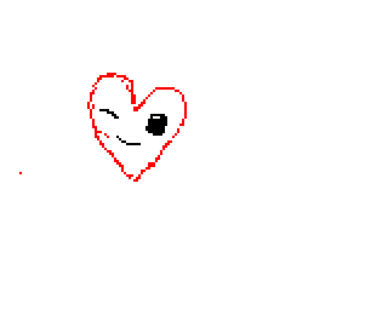 Pixel heart *i just started*