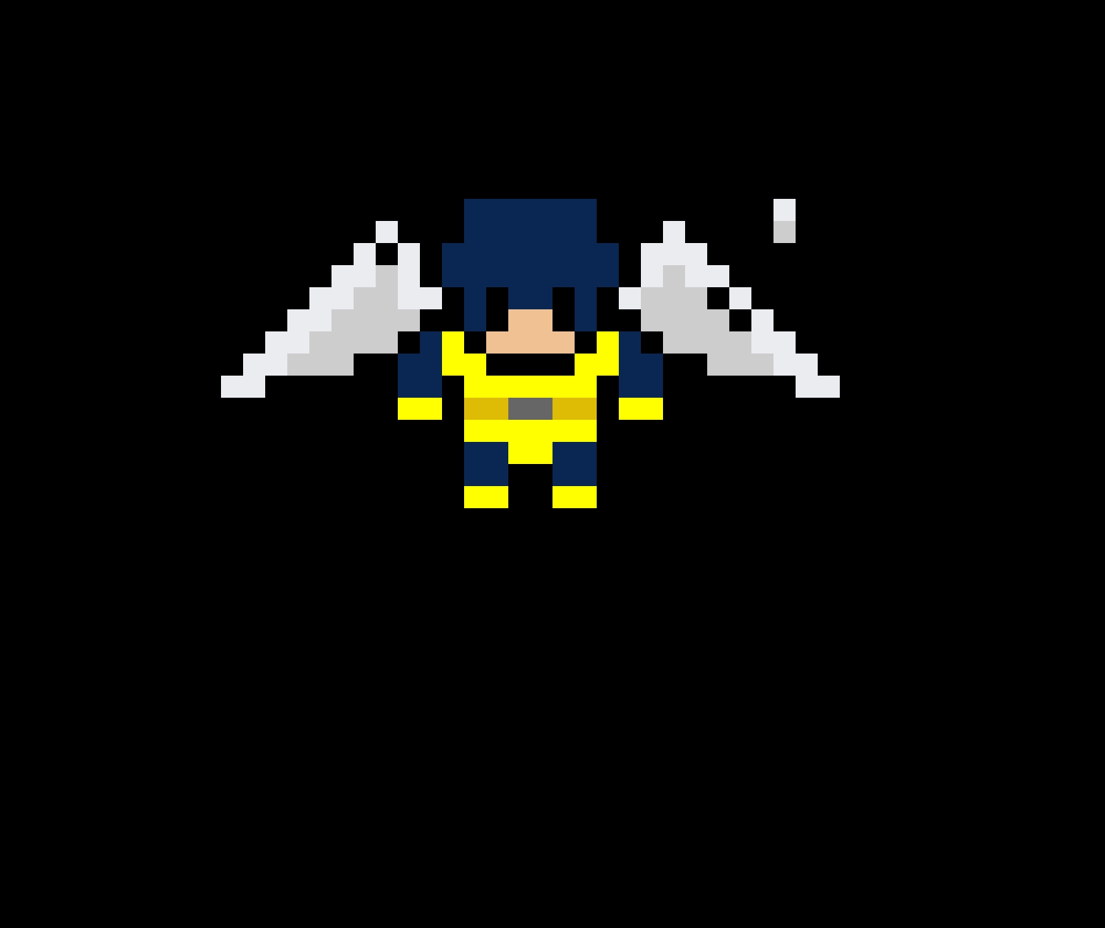 Angel (X-Men, MARVEL Comics) Open wings