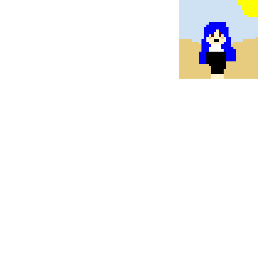 ItsFunneh at the beach