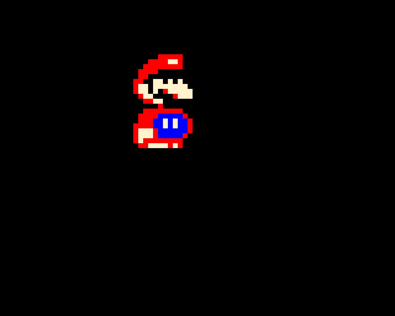 Mario from Super Mario World (For NES)