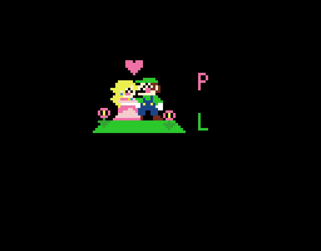 Peach x Luigi