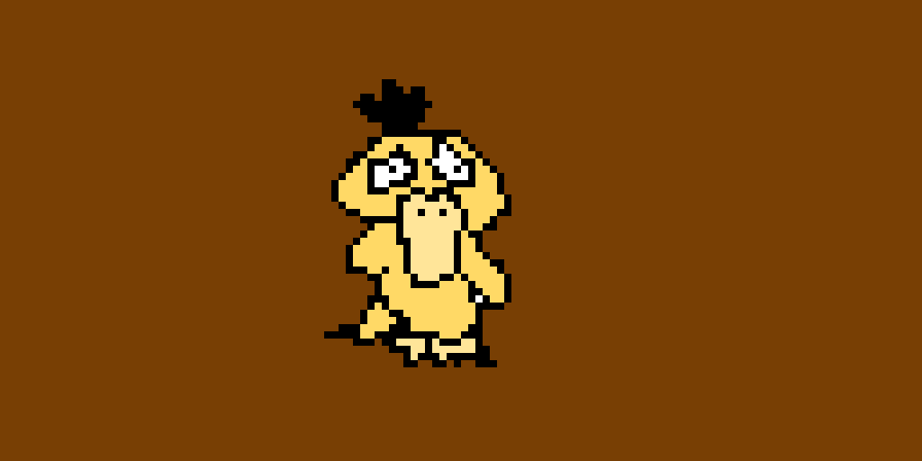Psyduck from Detective Pikachu (contest)