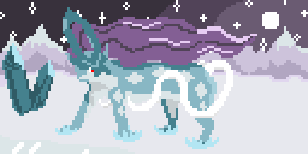 Suicune! (leaving edit on so you can download it)