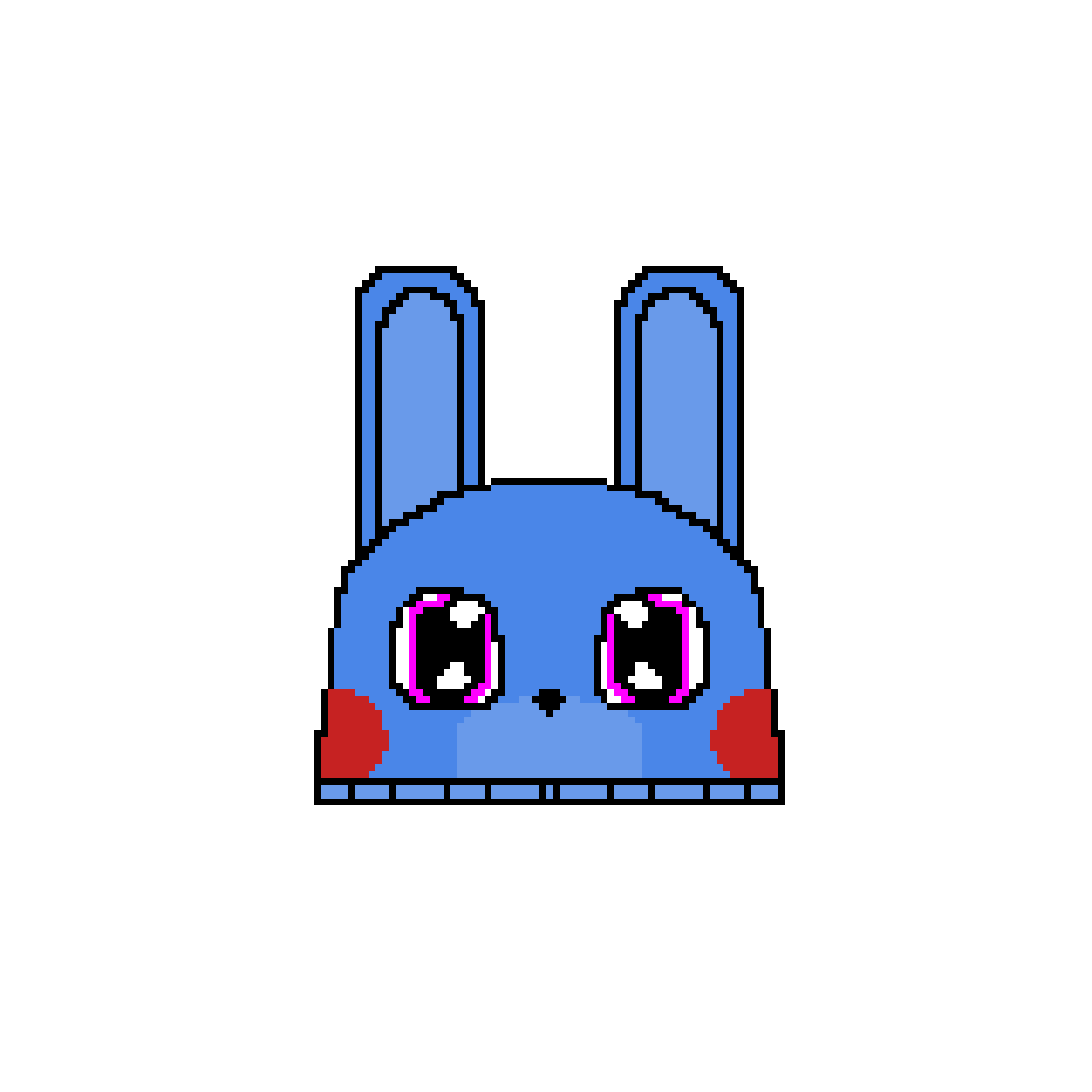 Bon Bon The Bunny Slipper (If This Gets Ten Likes I'll Draw Bonnie The Bunny Slipper)