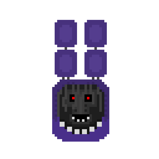 FNaF 2 Withered Bonnie Head