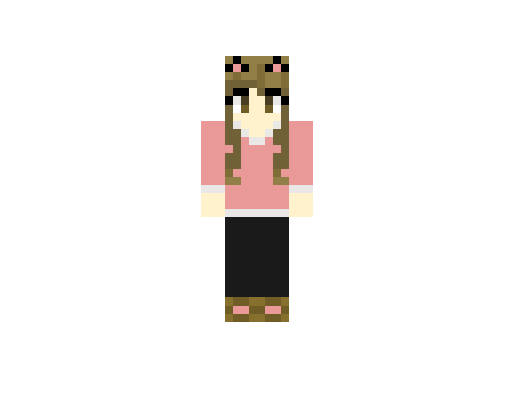 Yep, I Did It Again But This Time In Minecraft (With Kawaii Kitty Ears)