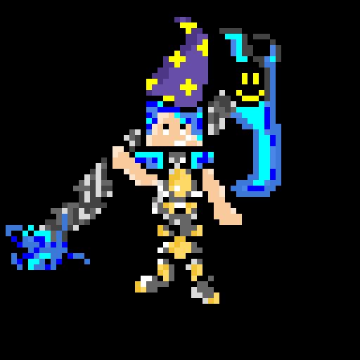 aqua the scythe wizard