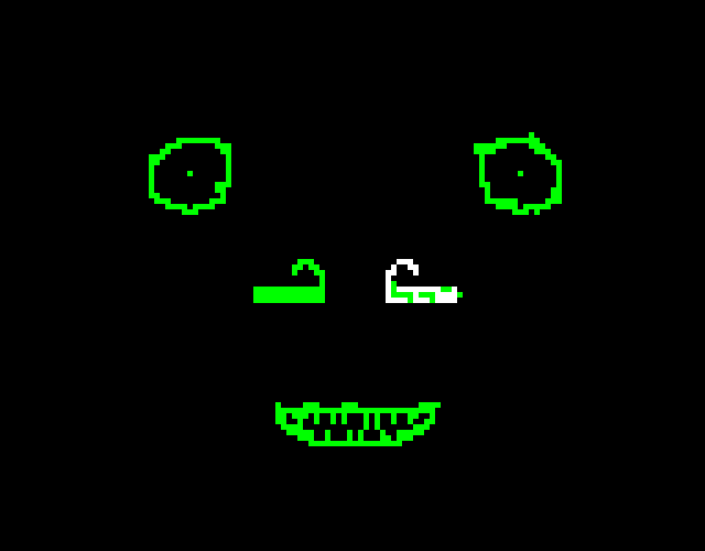 by rocky_bacon face i made the green parts he did not post normal version