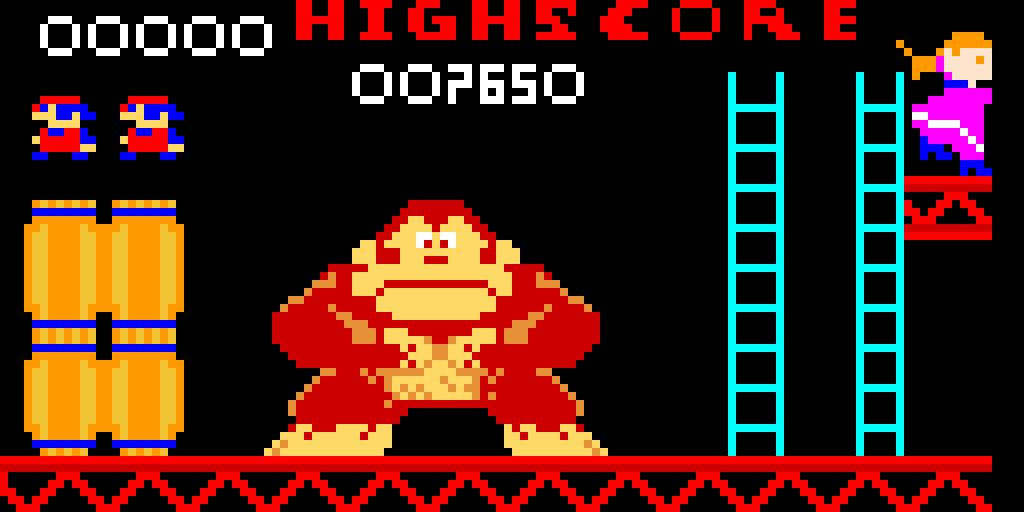 Donkey Kong anni 60