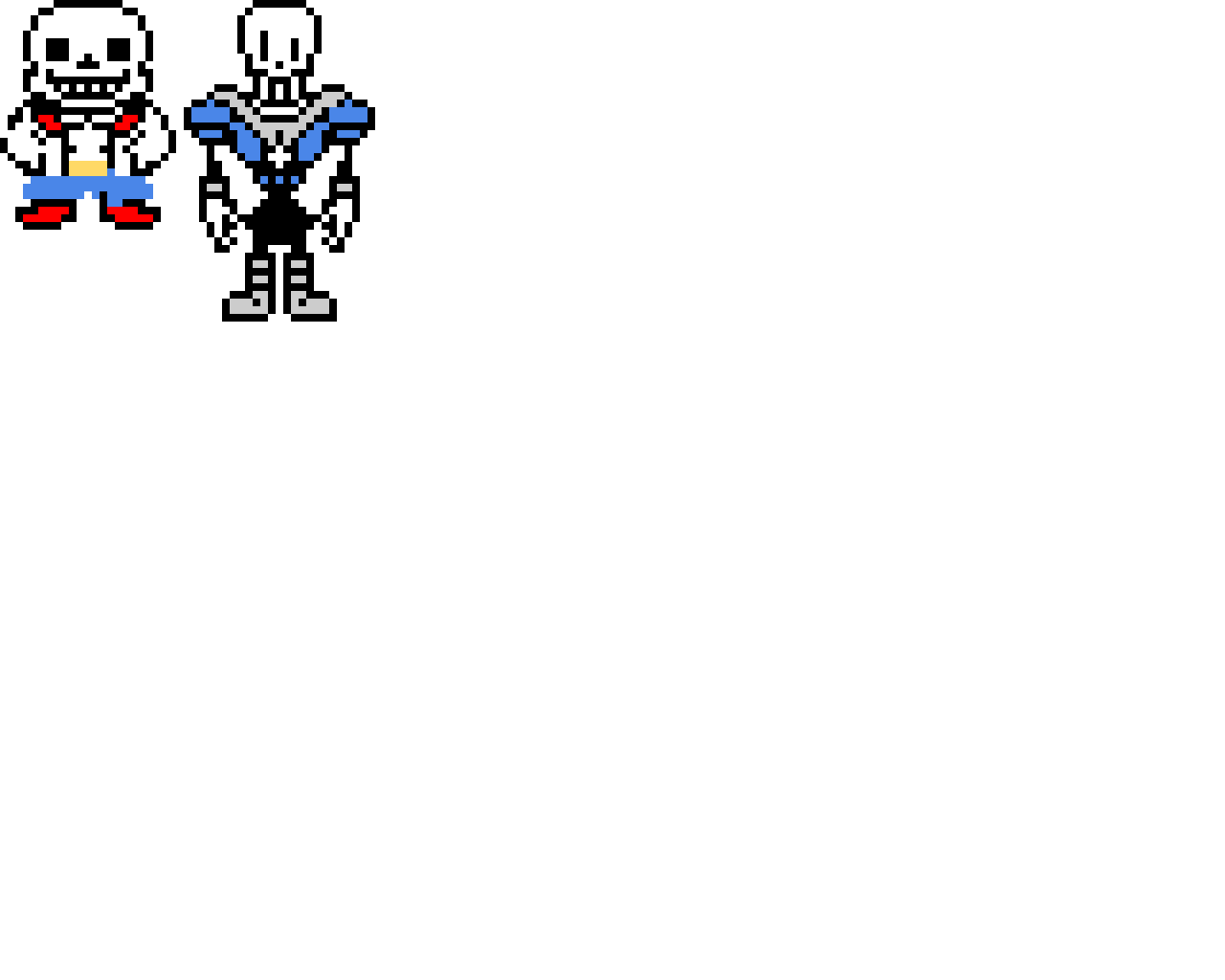 SAN AND PAPYRUS COLOR SWAP