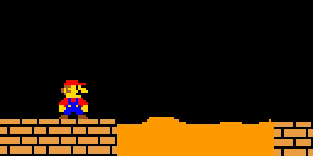 the lava