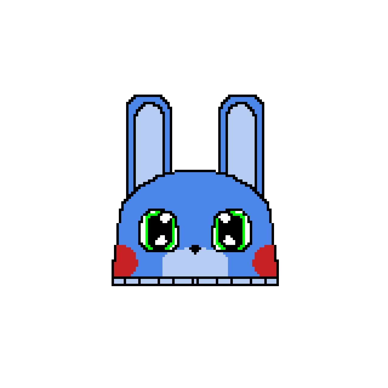 Toy Bonnie The Bunny Slipper (If This Gets Ten Likes I'll Draw Shadow Bonnie The Bunny Slipper