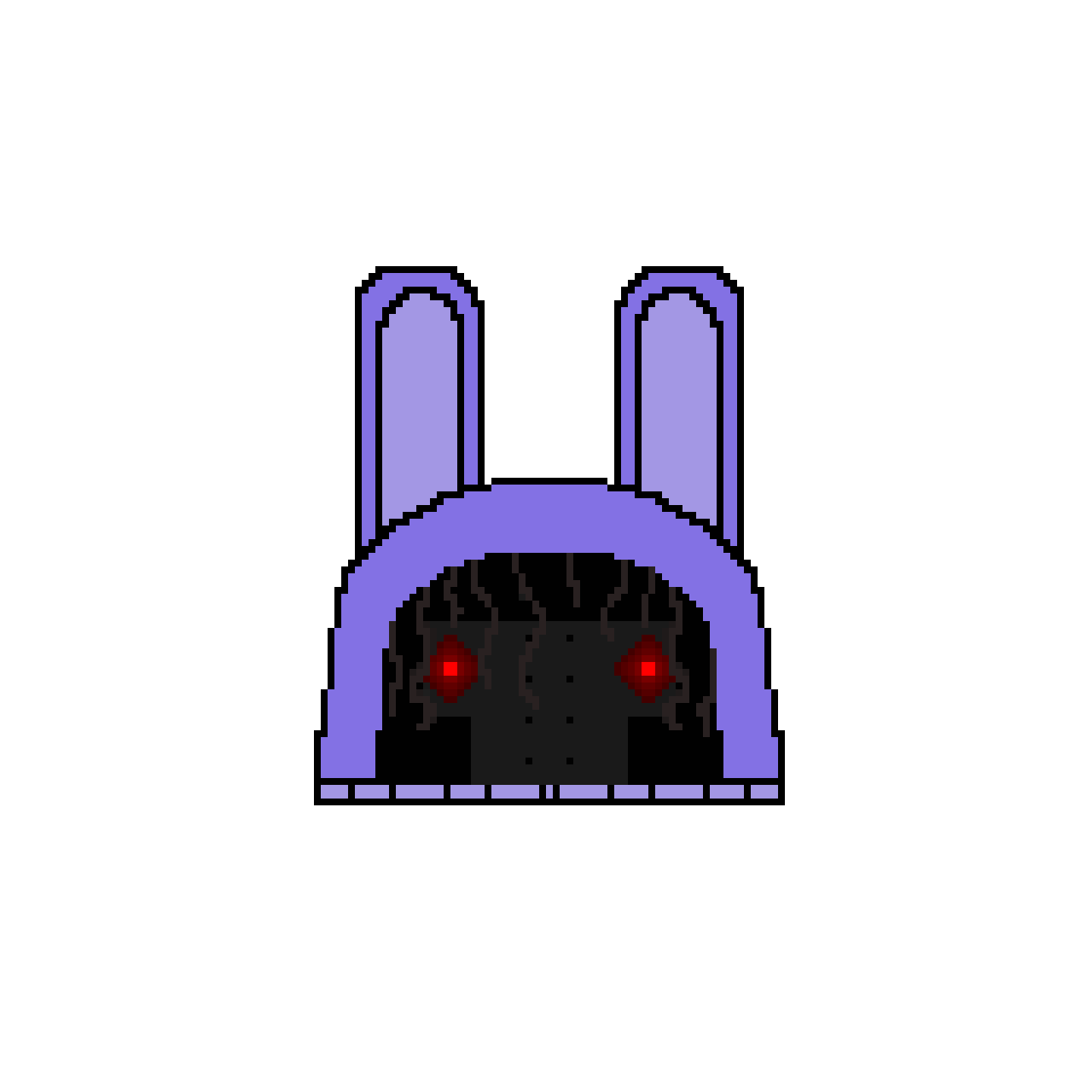 Withered Bonnie The Bunny Slipper (If This Gets Tens Likes I'll Draw Toy Bonnie The Bunny Slip