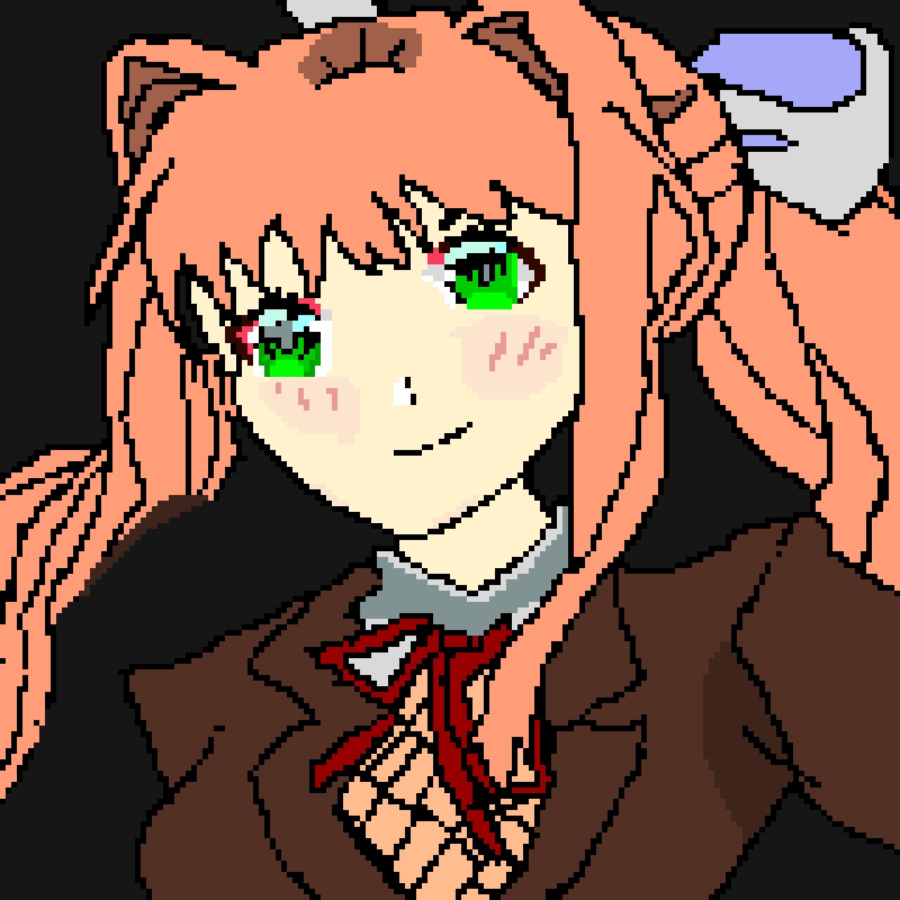 Monika ( Doki Doki Literature club)