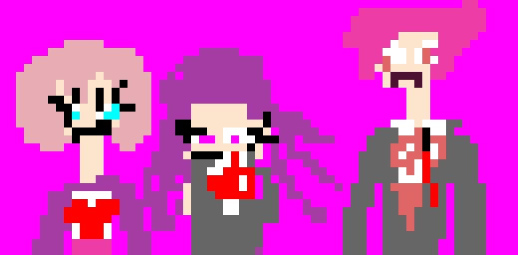 DDLC Sayori Natsuki and Yuri (Monika will be seperate)(update: Natsuki hair and Yuri outfit and hair