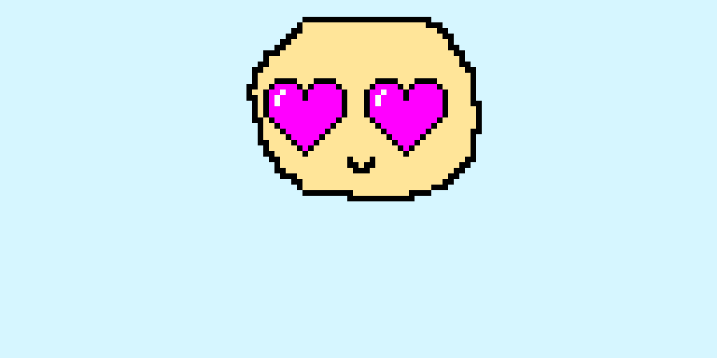 heart eyed emoji