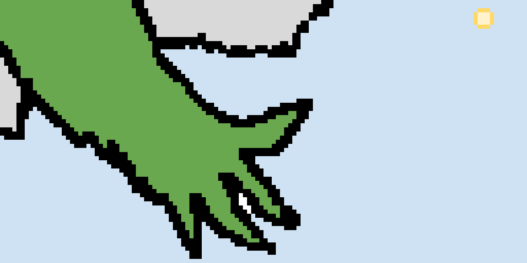 THE HAND OF KERMIT WANTS TO SAVE YOU..
