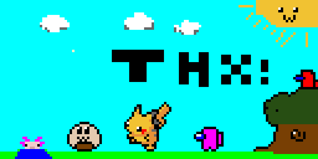 My first pixel art