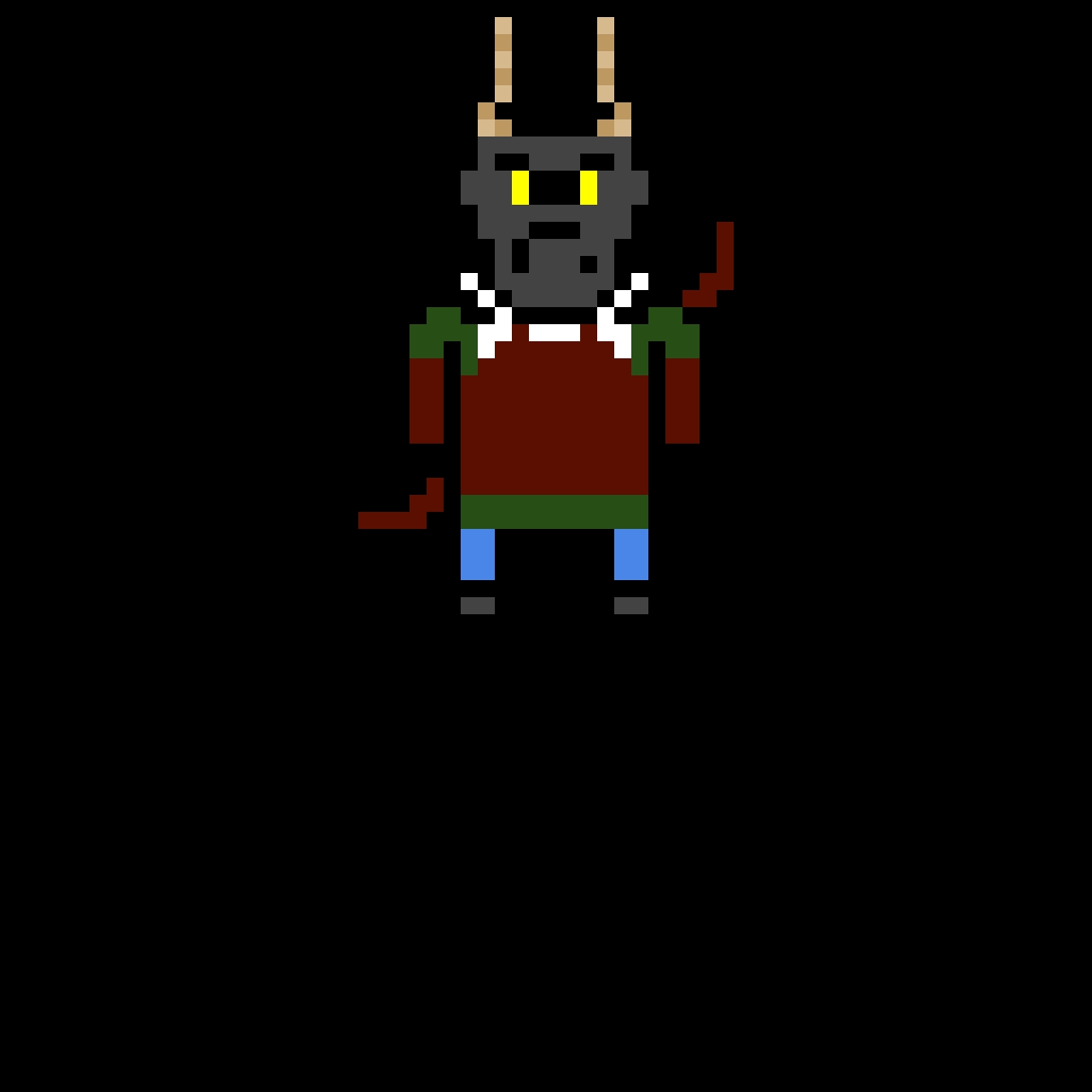 black dragonborn archer