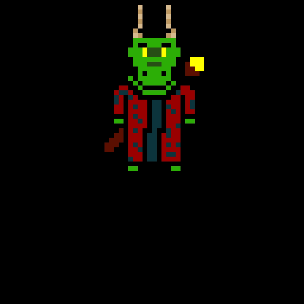 green dragonborn wizard