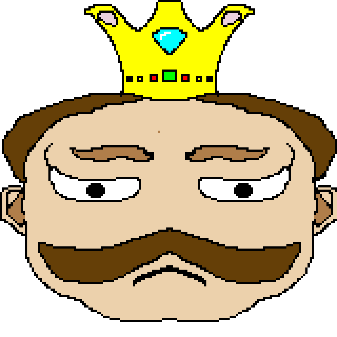 i made this and i call it king