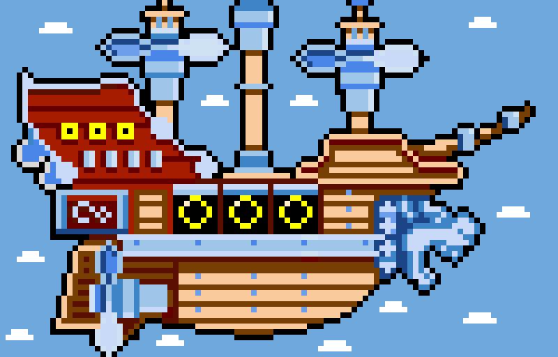 The Mighty Cannon-Ship! (New Super Mario Bros U Deluxe)