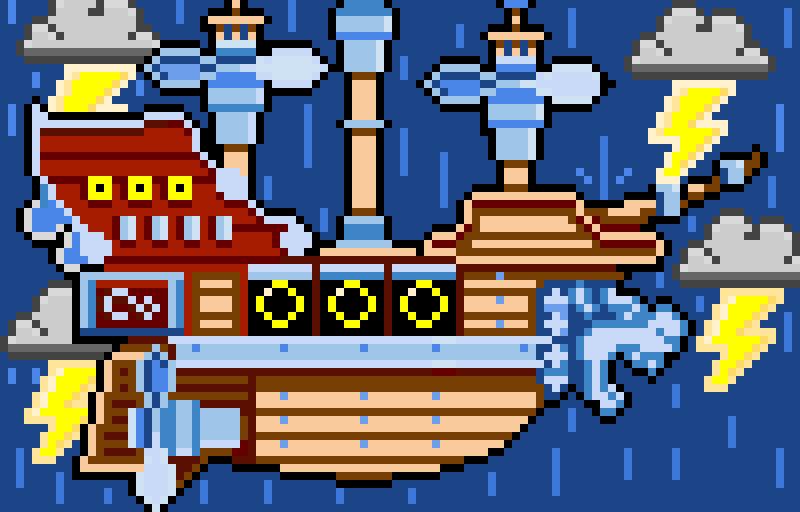 Boarding The Airship! (New Super Mario Bros U Deluxe)